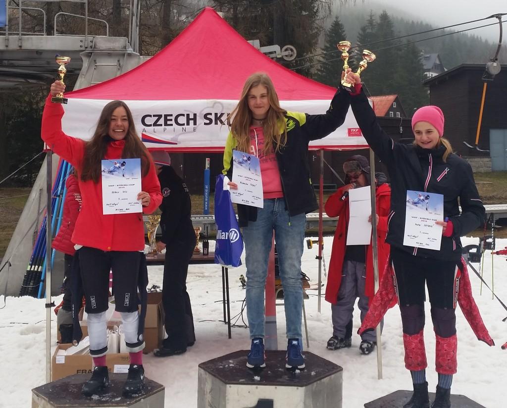Míša vítězí v posledním obřím slalomu série Vist Cup