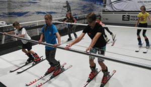 Naše největší naděje v prvním letošním tréninku na lyžích